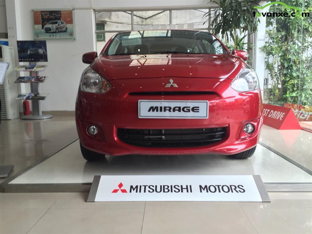 Mitsubishi Mirage CVT 2015