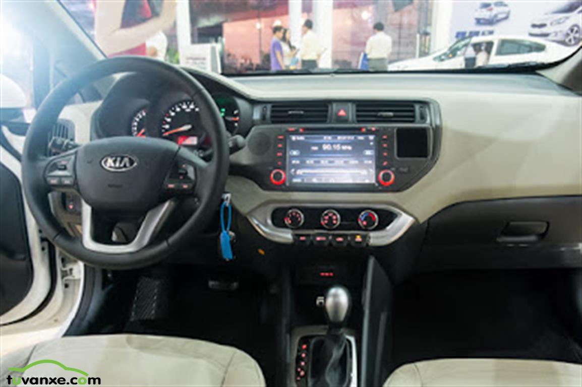 xe Bán Kia Rio 1.4 AT sedan 2017