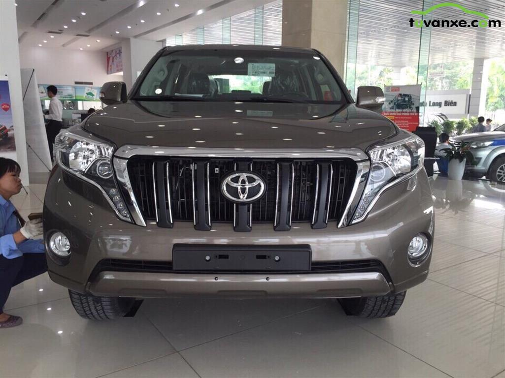 Toyota Prado model 2016