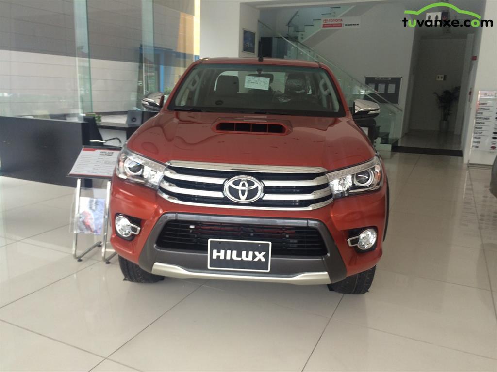 xe Bán Toyota Hilux 3.0G 2015