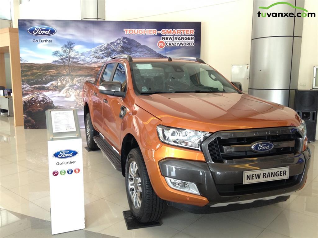 xe Bán Ford Ranger Wildtrak 3.2 2017