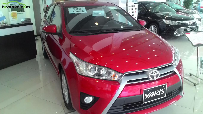 Toyota Yaris G 2015
