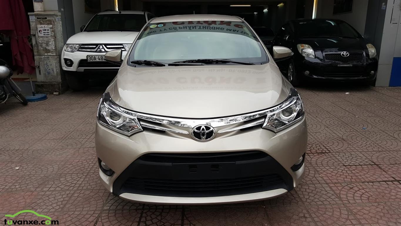 xe Bán Toyota Vios 1.5G CVT 2017