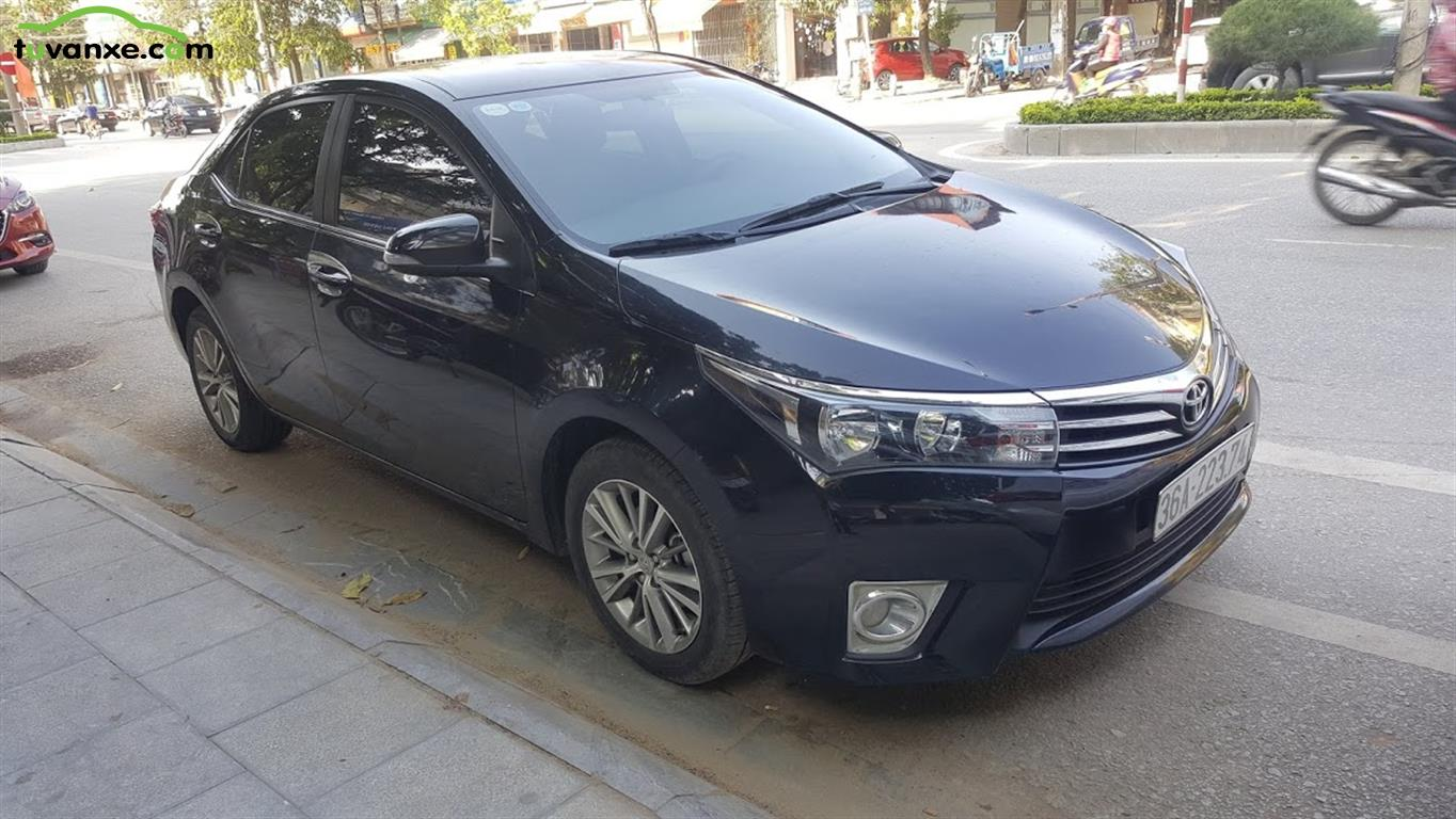 xe Bán Toyota Corolla Altis 1.8G AT 2016