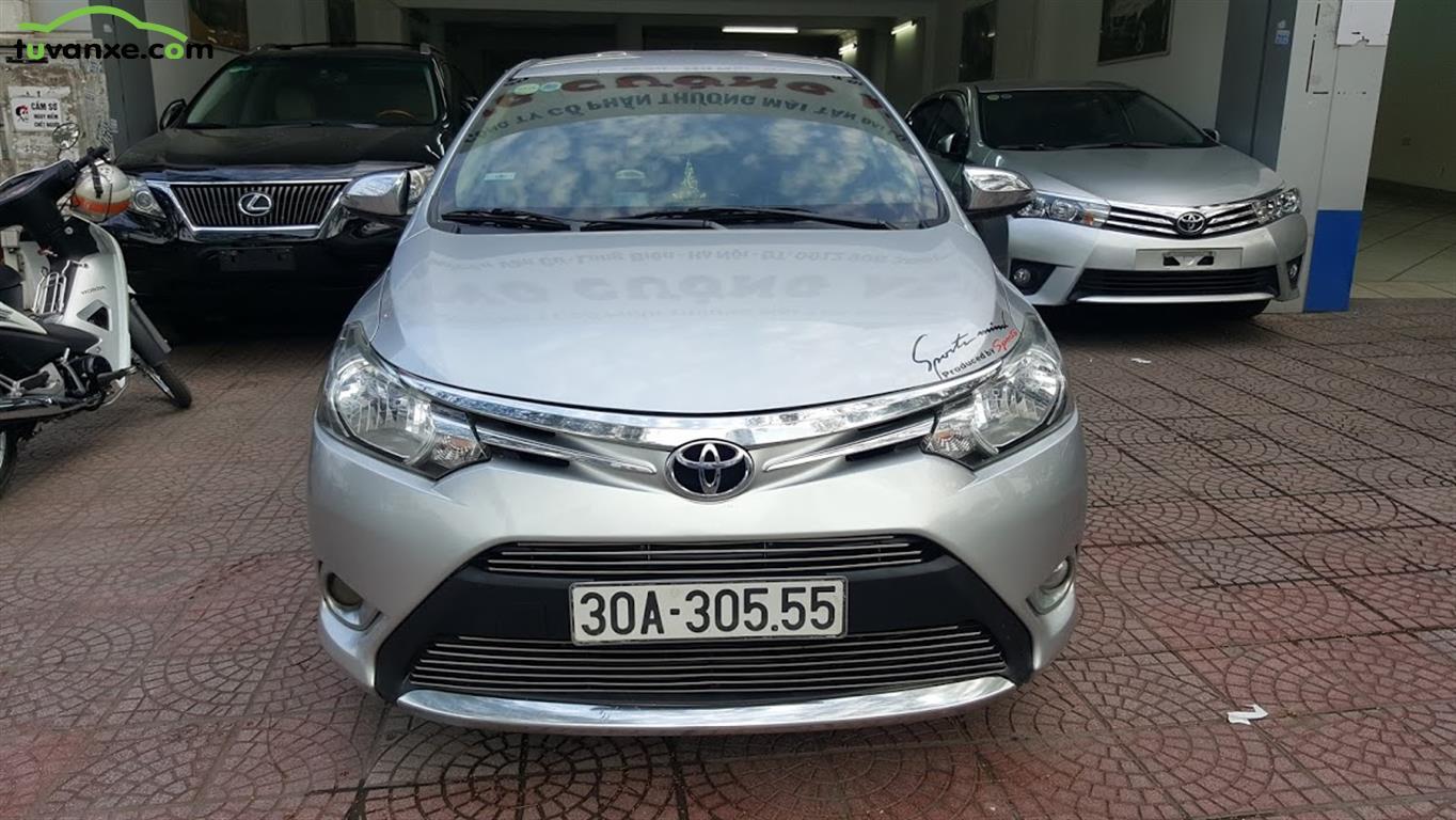 xe Bán Toyota Vios E 2014