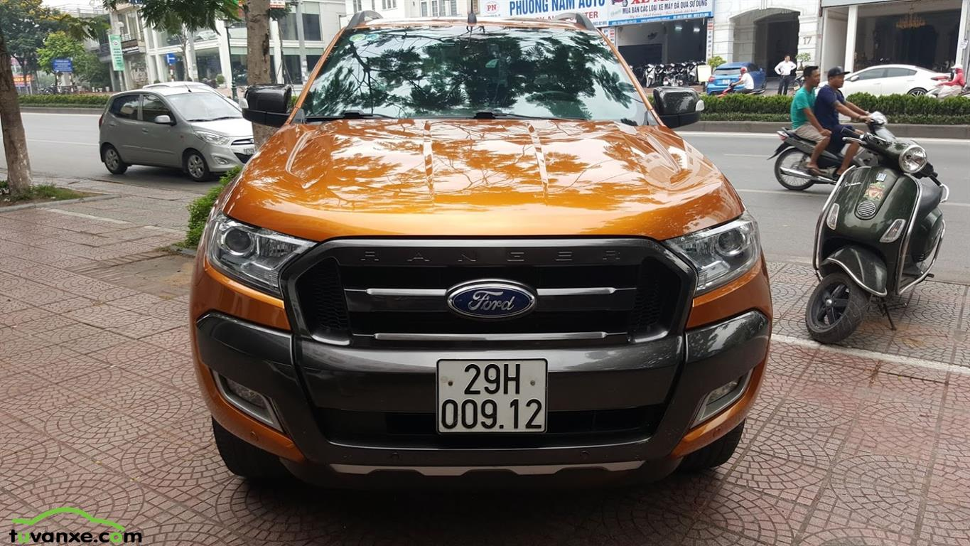 xe Bán Ford Ranger Wildtrak 3.2 AT 4x4 2016