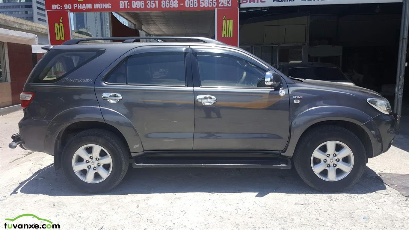 xe Bán Toyota Fortuner 2.5G 2011