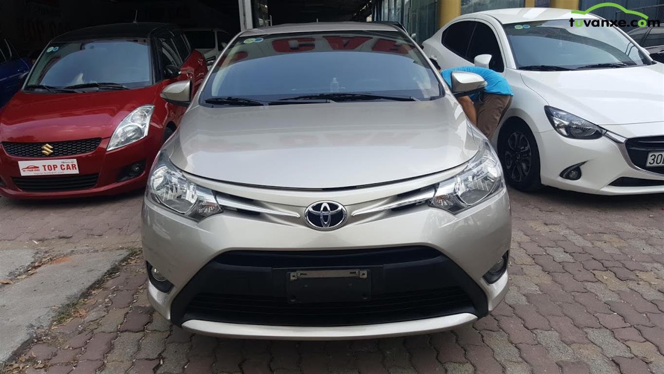 Toyota Vios 1.5E CVT 2017