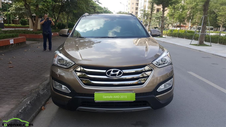 xe Bán Hyundai SantaFe 2.4 4WD 2015