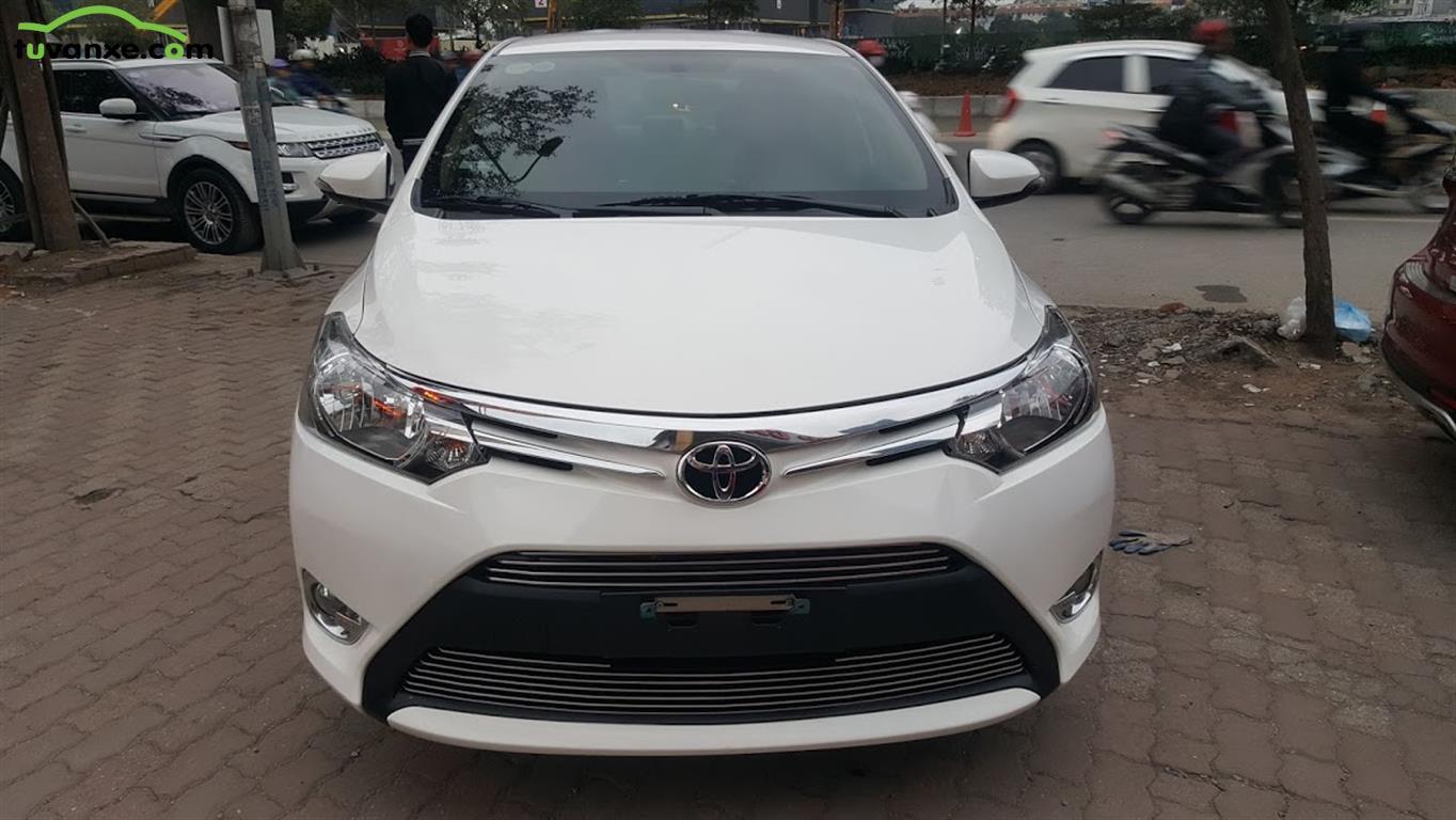 Toyota Vios 1.5E MT 2017