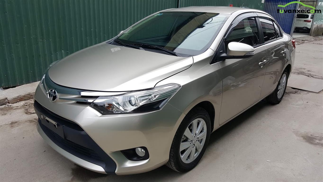 Toyota Vios 1.5G CVT 2017