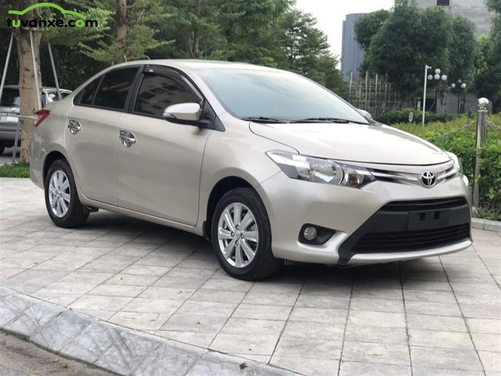 xe Bán Toyota Vios 1.5E CVT 2017