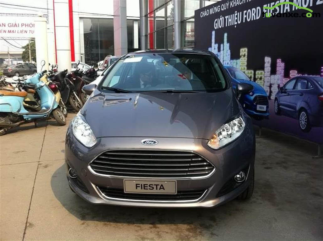 Ford Fiesta Sedan 1.5 AT Titanium 2015