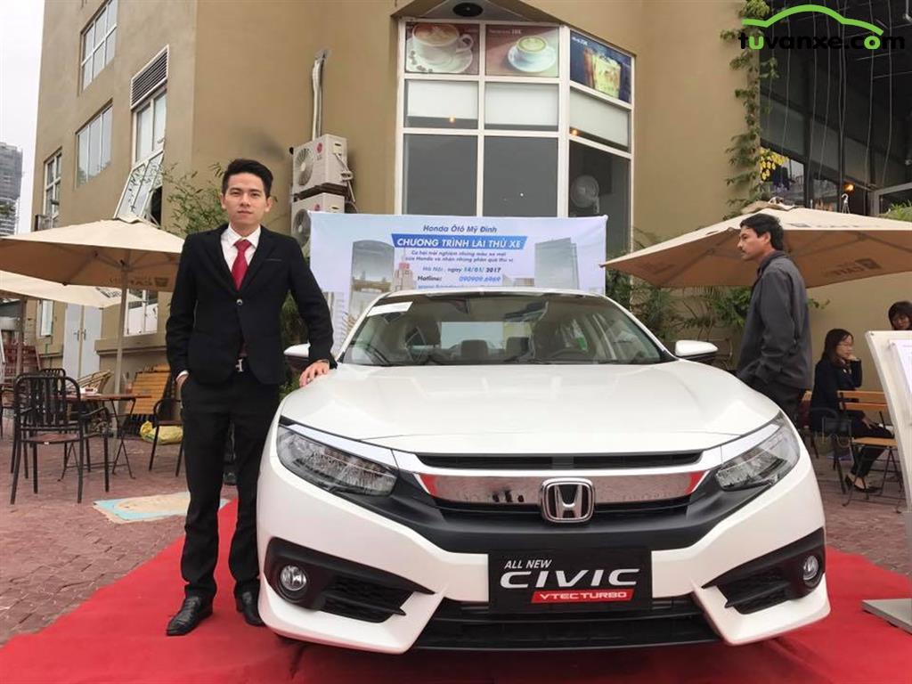 xe Bán Honda Civic 1.5 Turbo 2017