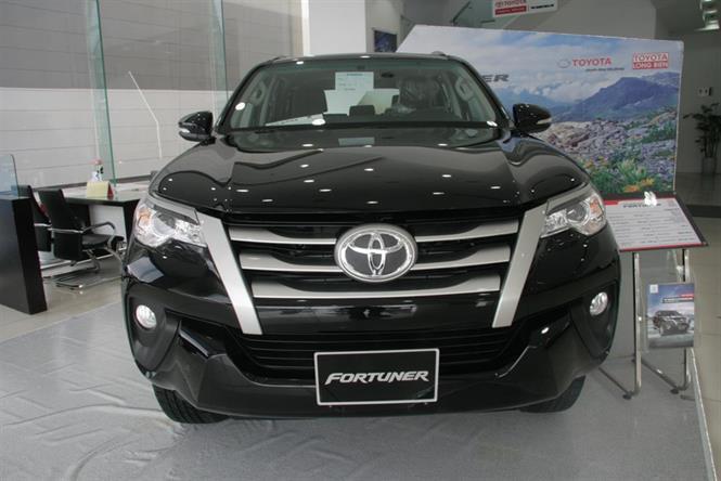 Ảnh Toyota Fortuner 2.4G 4x2 2017