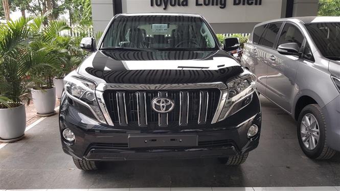 Ảnh Toyota Prado TX-L 2017