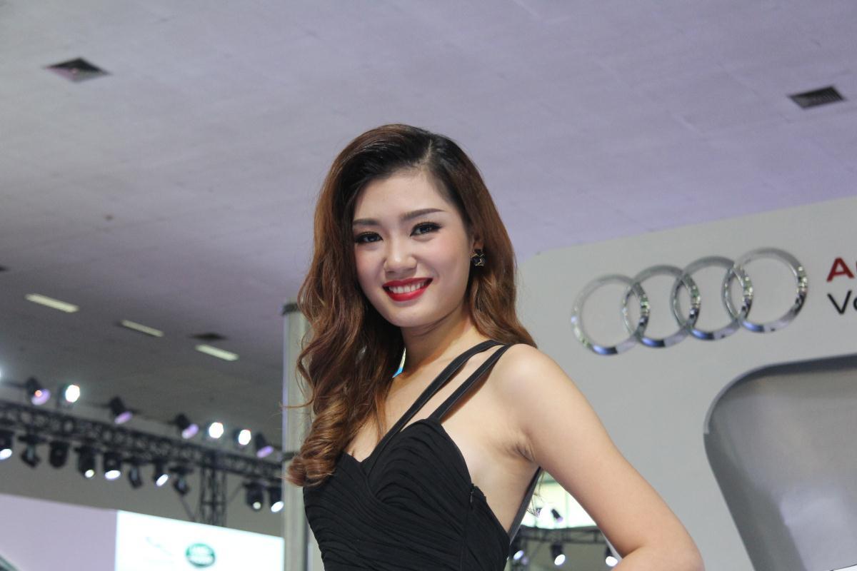 Người mẫu Việt khoe sắc tại Vietnam Motor Show 2015 59